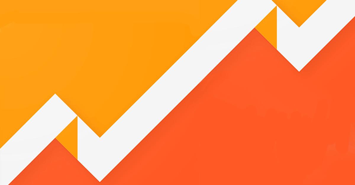 Il logo di Google Analytics
