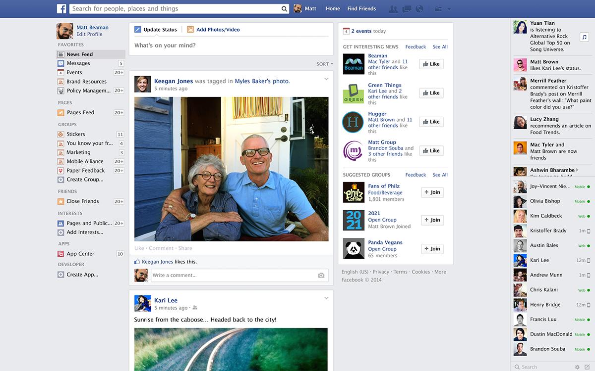 Il News Feed di Facebook