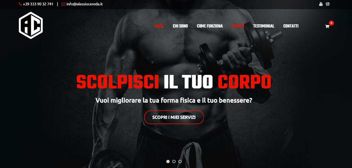 Alessio Cereda home page