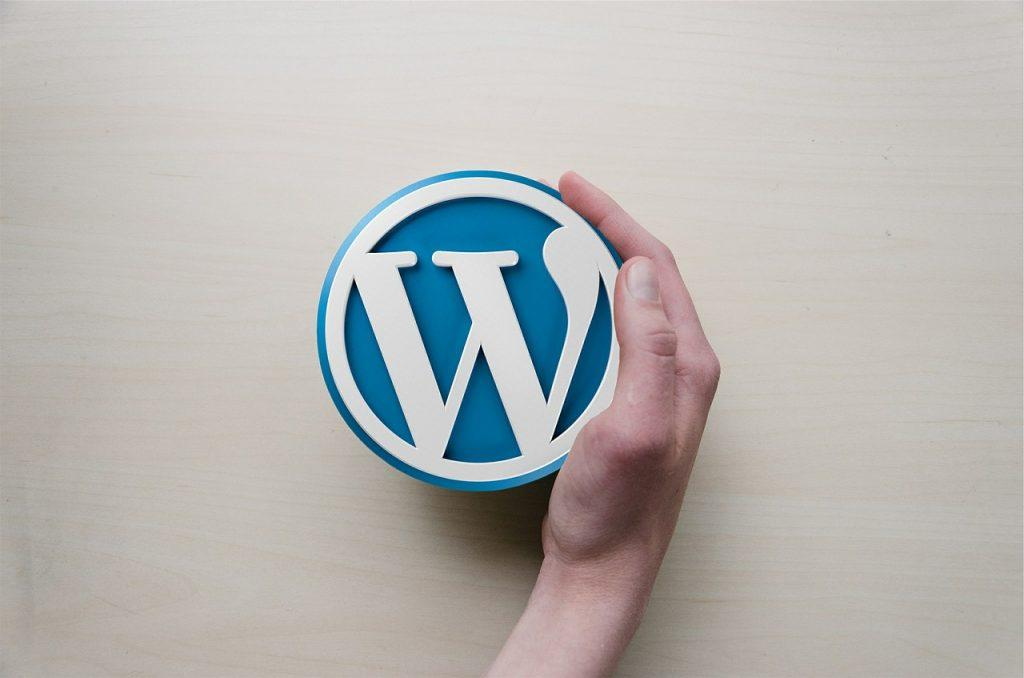 Il logo di WordPress