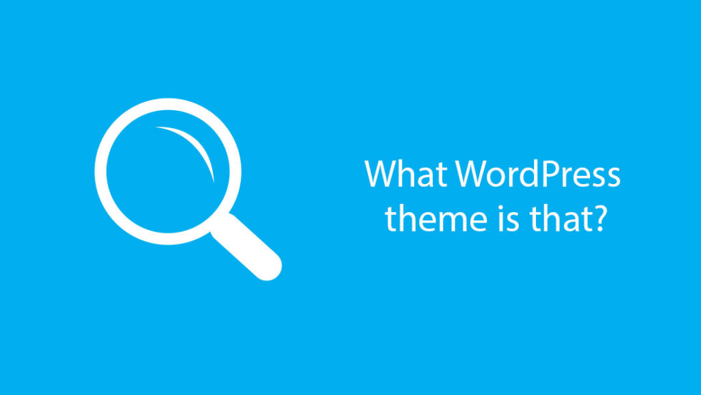 Il logo di What Wordpress Theme Is That
