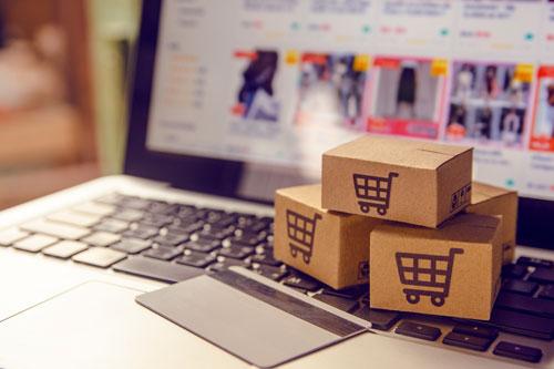 Dettaglio di un sito e-commerce
