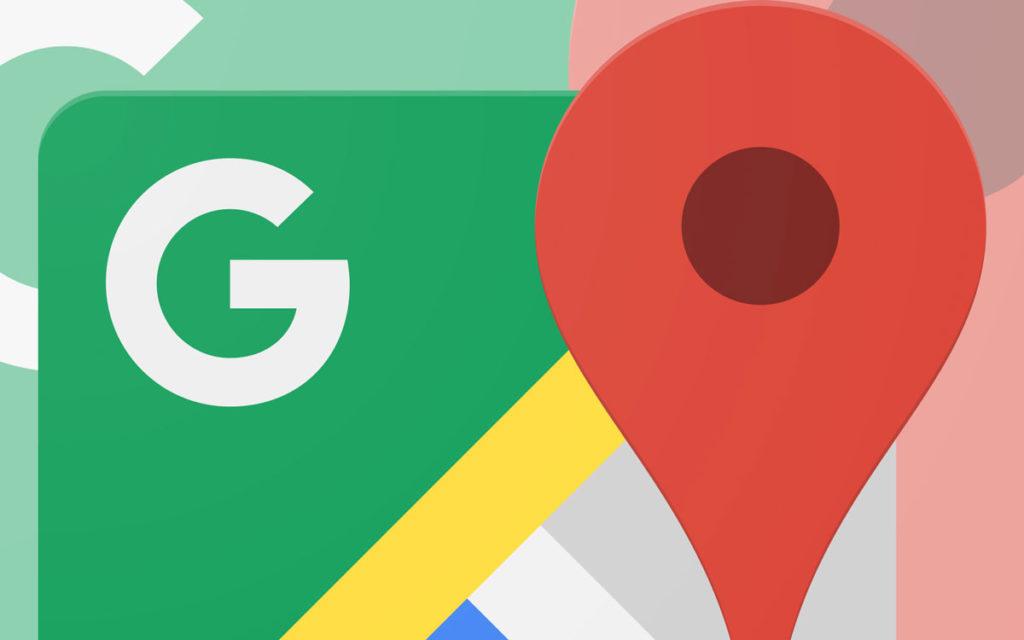 Il logo di Google Maps