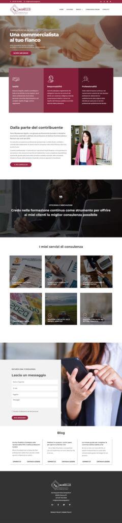 Il sito di Maria Teresa Agrello, commercialista di Potenza