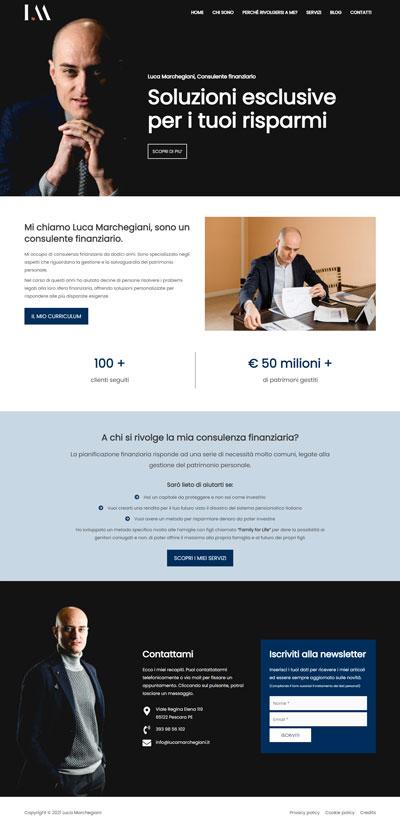 Home page Lucamarchegiani.it, consulente finanziario a Pescara